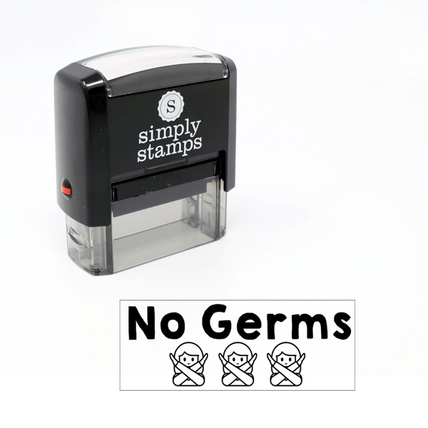 No Germs Stamp for Teachers