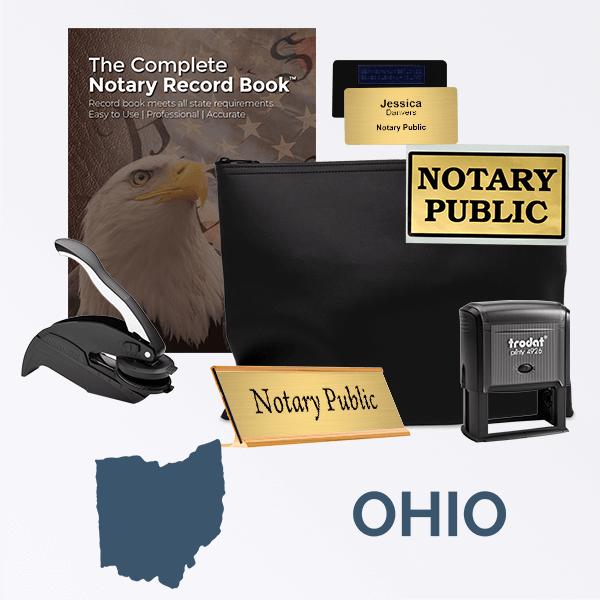 Ohio Deluxe Notary Kit