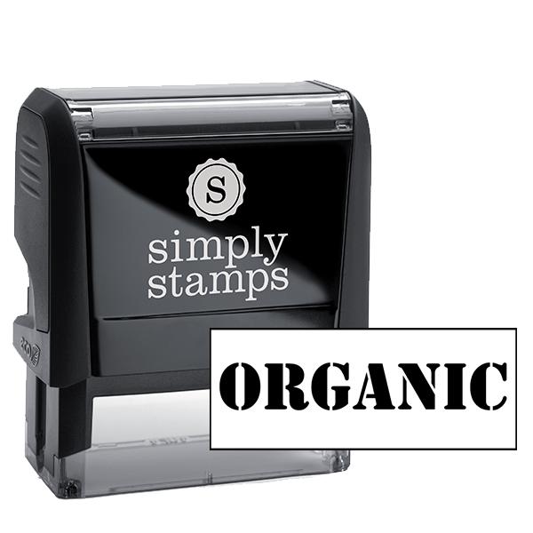 ORGANIC Rubber Stamp