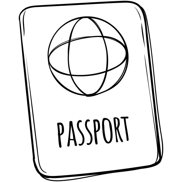Prague Travel Return Address Stamp