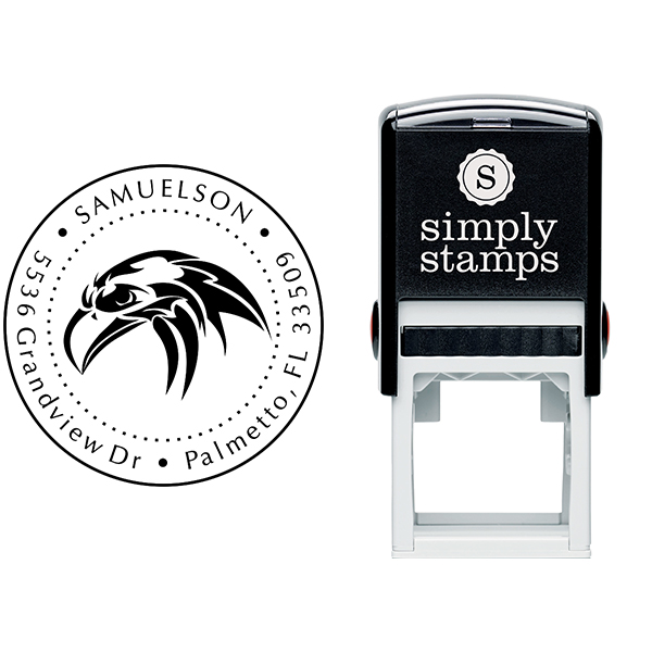 Return Address Eagle Head Stamp Body and Design