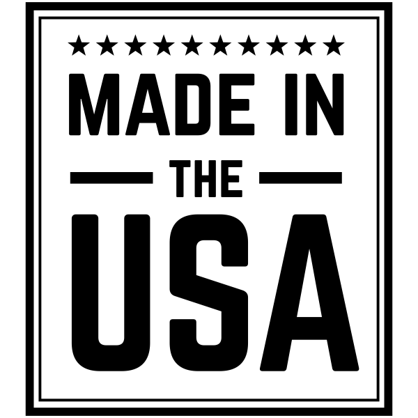 Made in the USA Stars Rubber Stamp