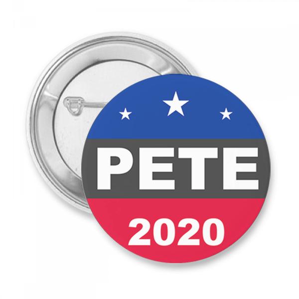 Pete 2020 Button