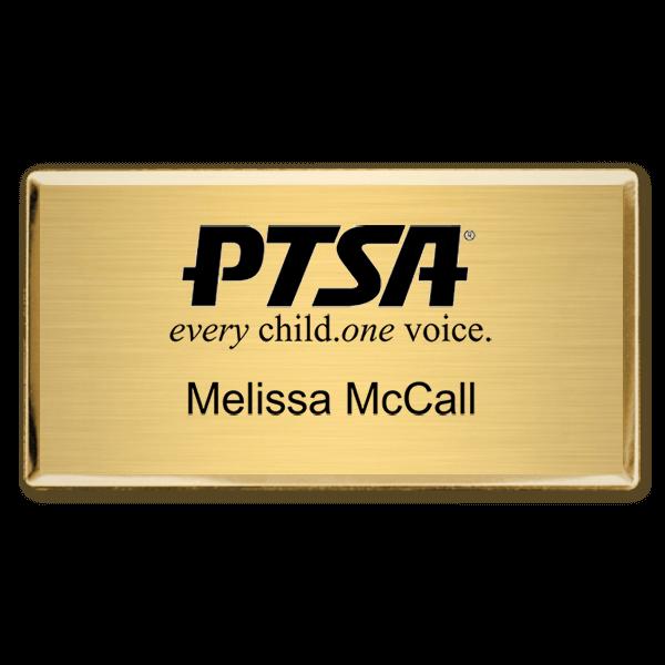 PTSA Fancy Engraved Name Tag