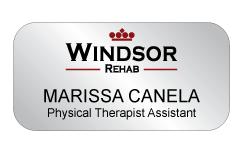 Regency - Windsor Rehab Name Tag