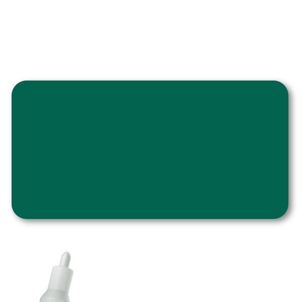 Reusable Chalkboard Green Rectangle Name Tag