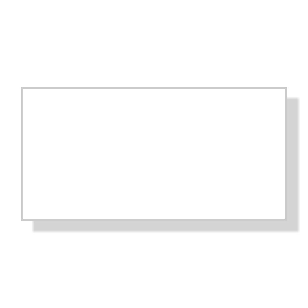 Reusable Dry Erase White Rectangle Name Tag