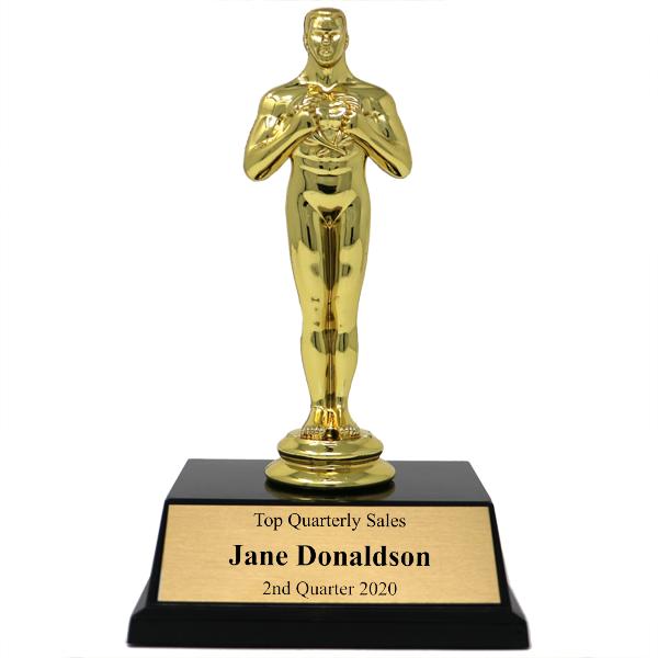 Sales Goal Achievement Award Trophy