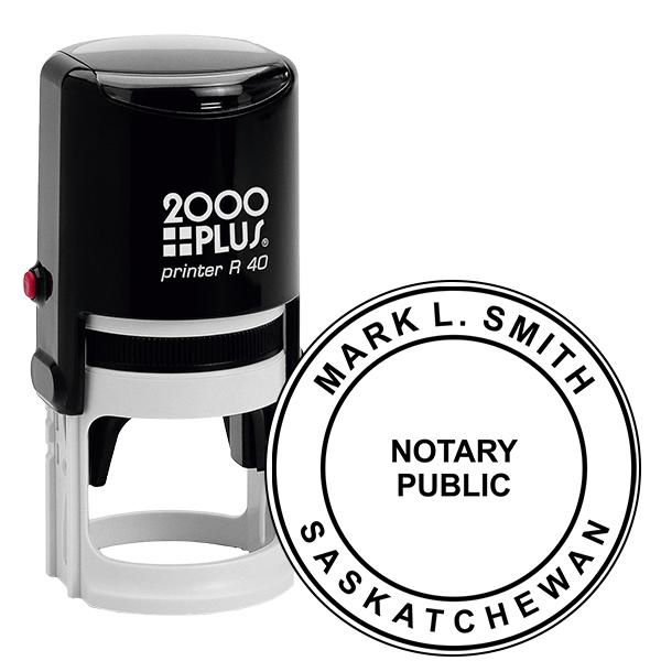 Saskatchewan Notary Stamp