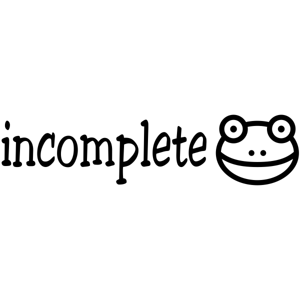 Incomplete Froggy Teacher Craft Stamp