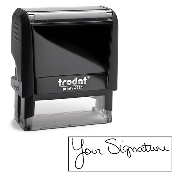 Custom Signature Self-Inking Stamp