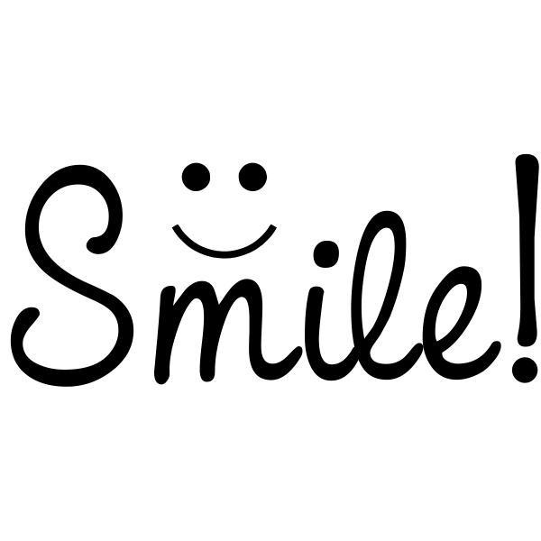 Smile! Craft Stamp