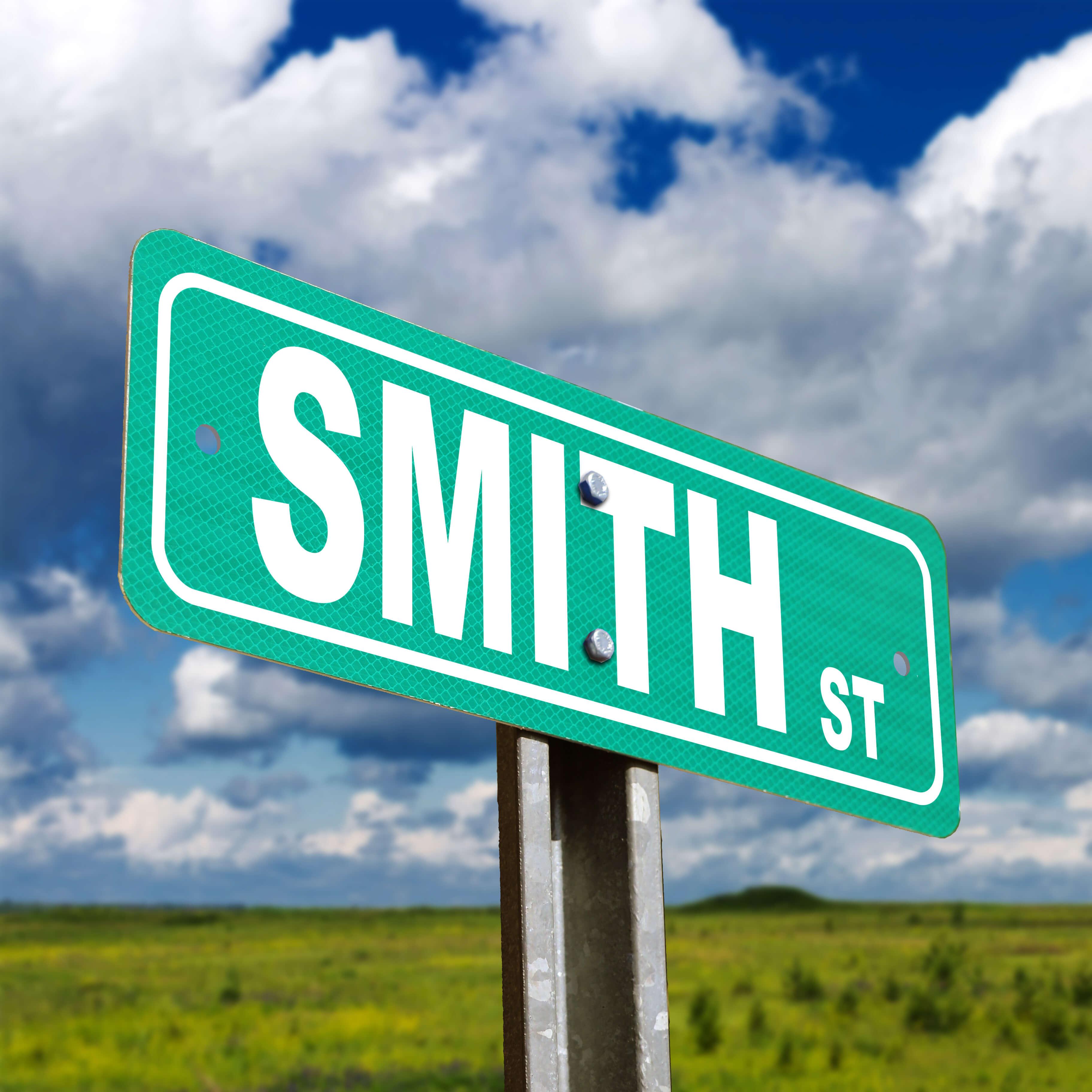 Smith Street Custom Sign