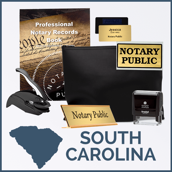 South Carolina Deluxe Notary Kit