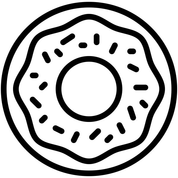 Donut Craft Stamp