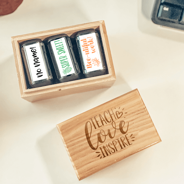 Teach, Love Inspire Stamp Box Set
