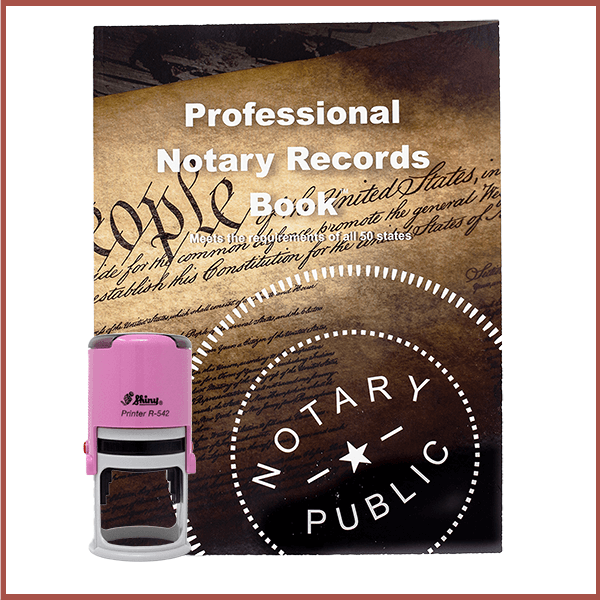 Tennessee Pink Value Notary Kit