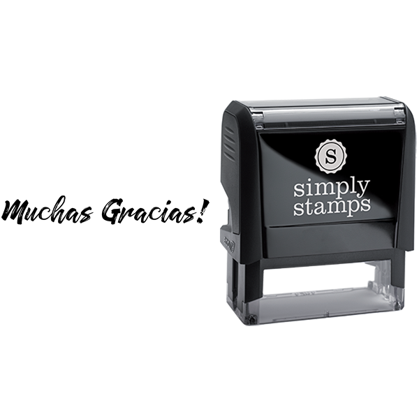 Muchas Gracias Thank You Business Stamp