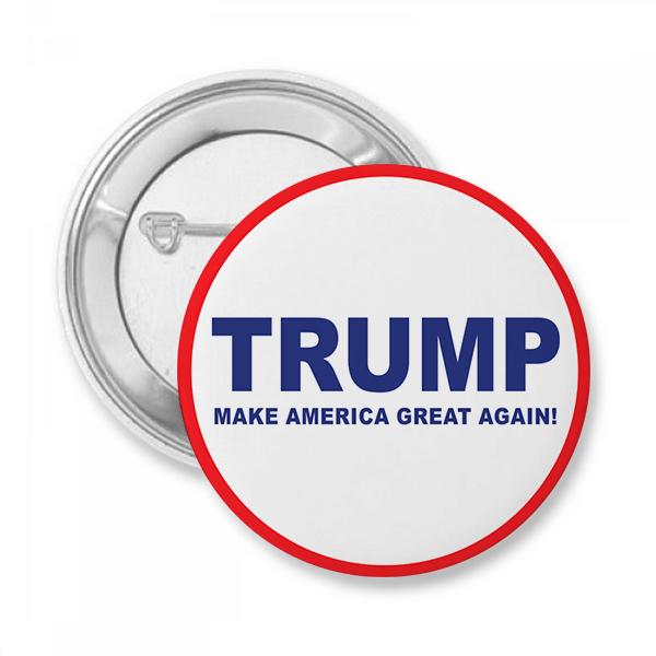 Trump Presidential Campaign Button
