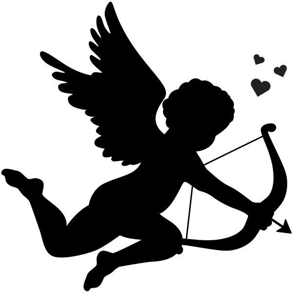 Cupid Valentine Love Craft Stamp