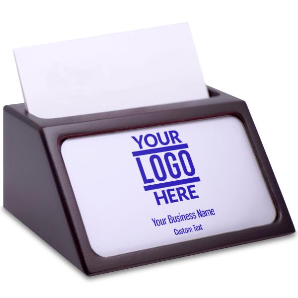 Custom Business Card Holder with Full Color Insert