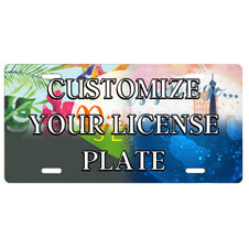 Custom Front License Plate