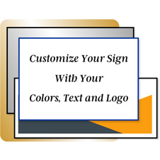 Design Your Own Color Plastic Signs