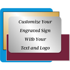Design Your Own Engraved Plastic Signs