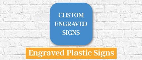 Engraved Plastic Sign
