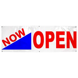 Now Open Banner