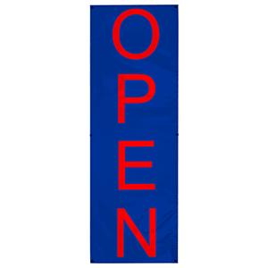 Vertical Open Banner