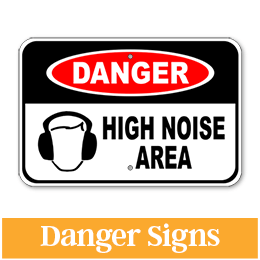Aluminum Danger Sign