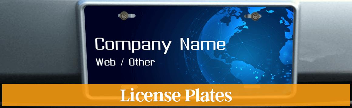 Lawn Care License Plate