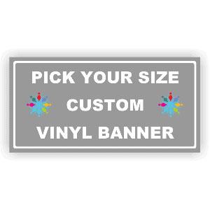 Design Your Own Full Color Custom Banner