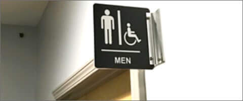 Shop Restroom Signs