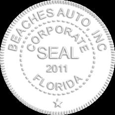 Florida Corporate Seal Embosser