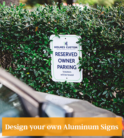 Design an Aluminum Sign