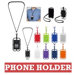 Promotional Lanyard Phone Holder