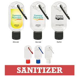 Hand Sanitizer with Logo