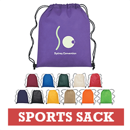 Branded Multi-Color Sports Bags