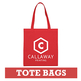 Promotional Red Tote Bag