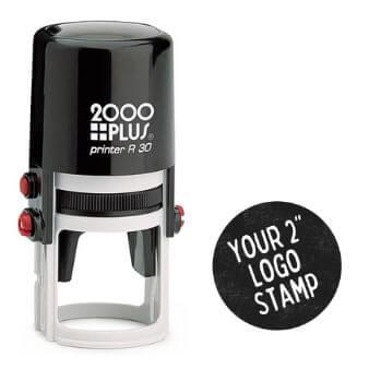 2 Inch Logo Stamp