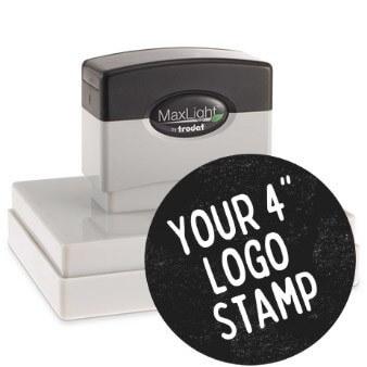 4 Inch Logo Stamp