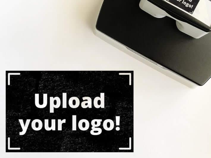 Pre-Inked Logo Stamp