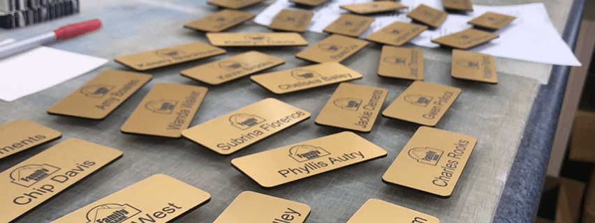 Manufacture Name Tags