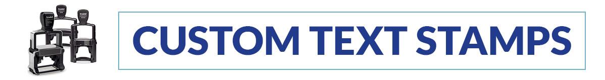 Trodat Professional Custom Text Stamps