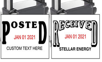 Two Types of Dater Stamps