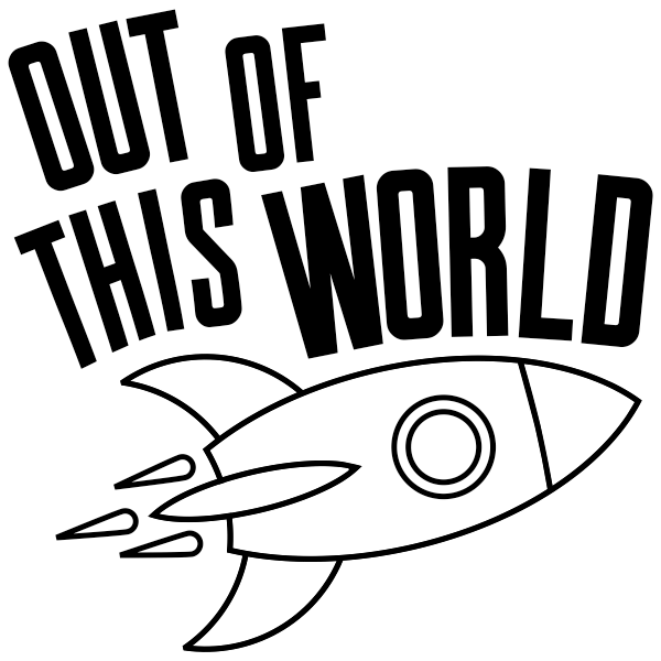 Out of this World Teacher Stamp