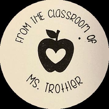 Custom classroom teacher stamp