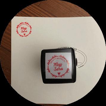Custom Library Book Stamp